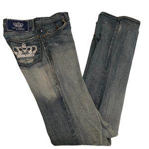 Victoria Beckham Rock & Republic Blue Jeans 24